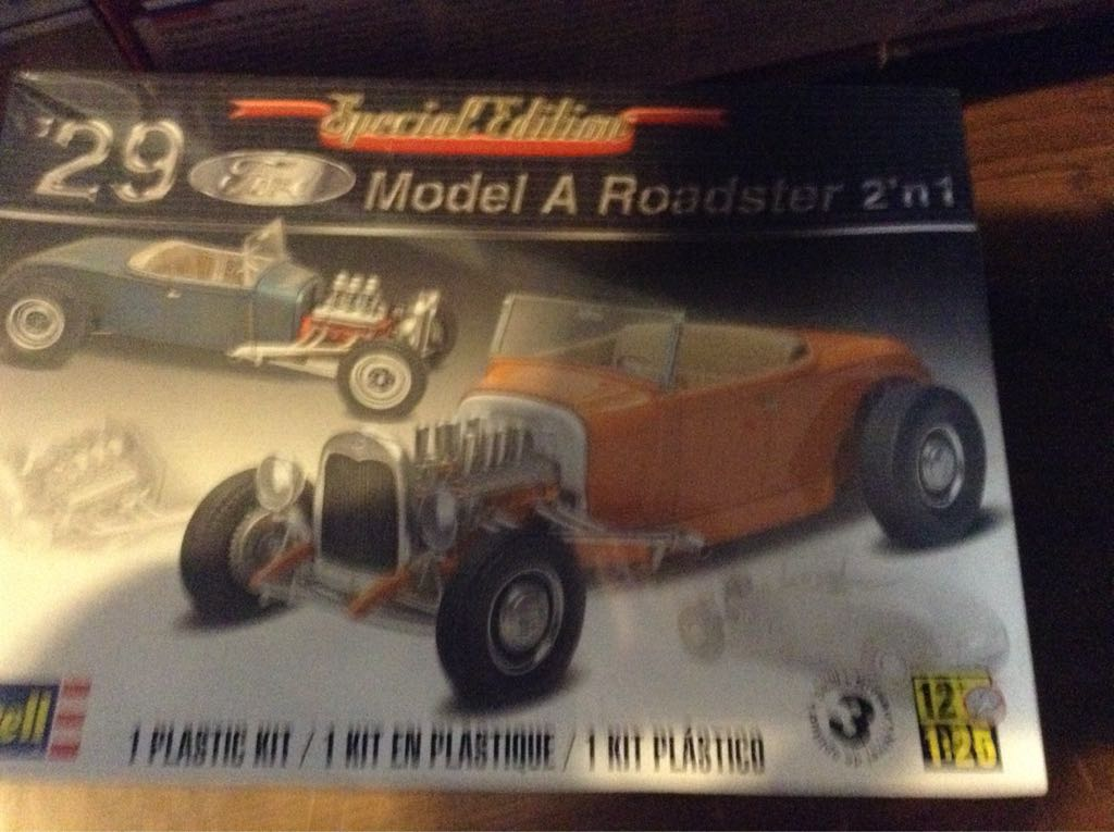 Model A Roadster Plane - Ford (Car) front image (front cover)