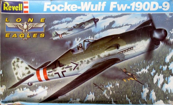 Fw 190 D-9 Plane - Focke Wulf (WW2 Fighter) front image (front cover)
