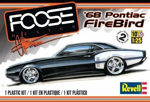 Foose Design '68 Pontiac FireBird Plane - Revell front image (front cover)