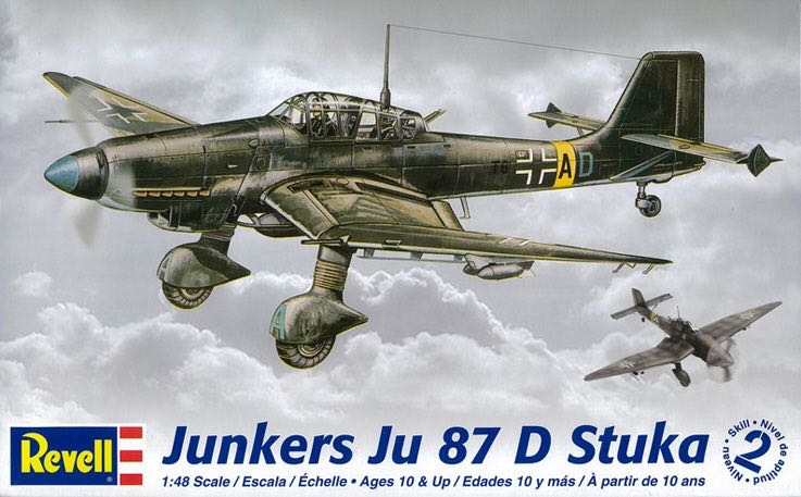 Ju 87 D Plane - Junkers (WW2 Dive Bomber) front image (front cover)