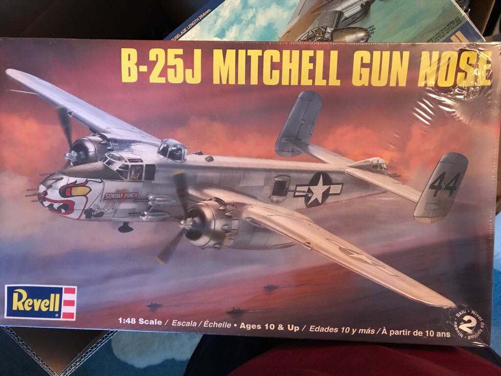 B-25J Mitchell Gun Nose Plane - North American front image (front cover)