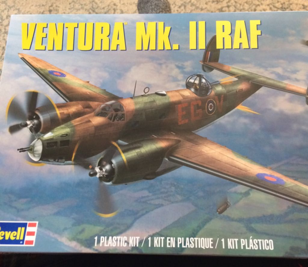 Ventura Mk.2 Raf Plane - Revell front image (front cover)