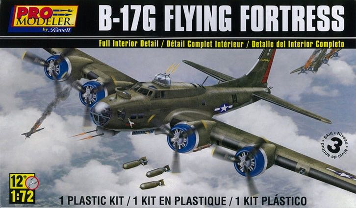 B-17G 'Flying Fortress' Plane - Boeing (WW2 Heavy Bomber) front image (front cover)