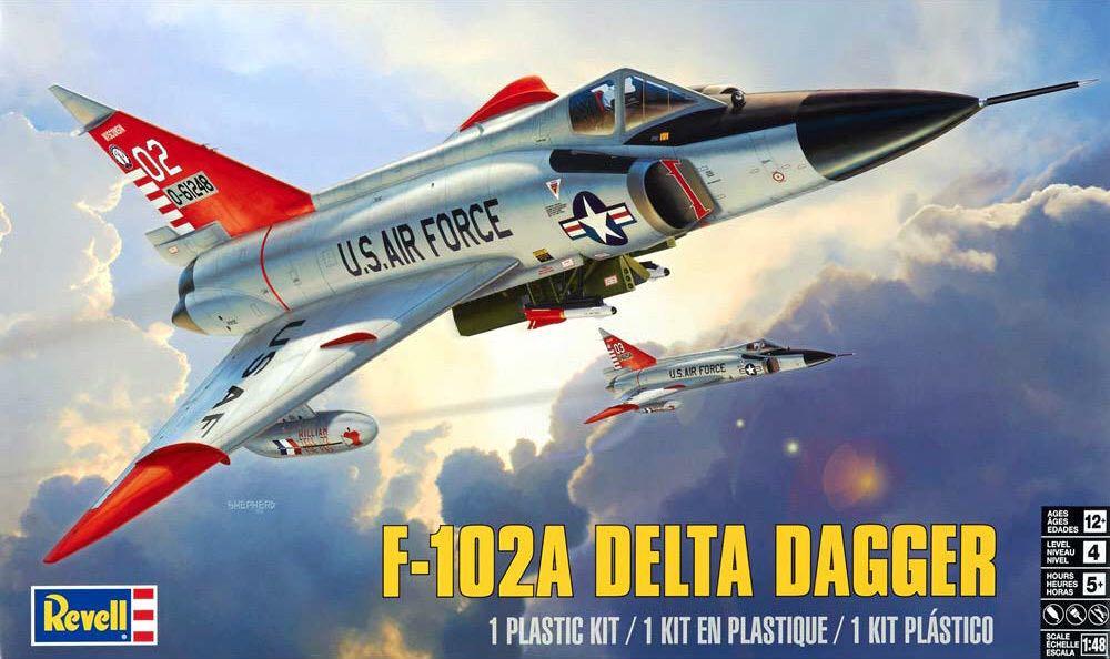 F-102A Delta Dagger Plane - Convair (Supersonic Fighter & Interceptor) back image (back cover, second image)