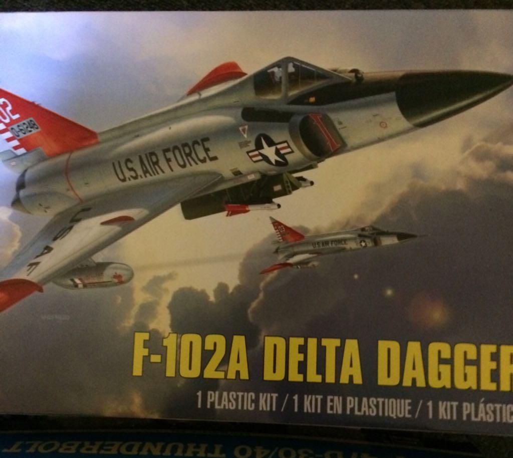 F-102A Delta Dagger Plane - Convair (Supersonic Fighter & Interceptor) front image (front cover)