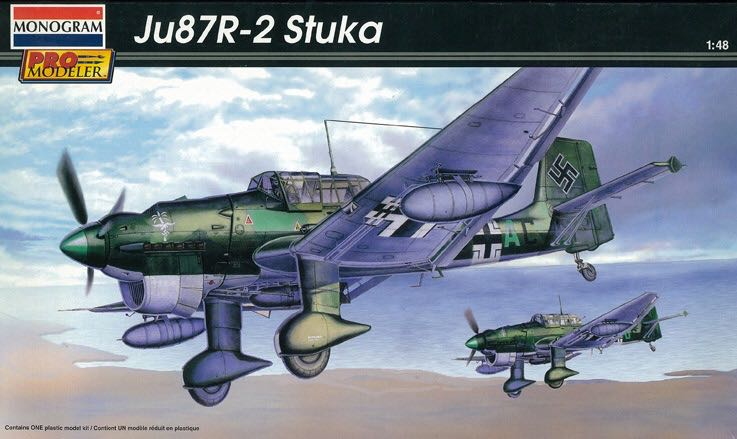 Ju 87 R-2 Plane - Junkers (WW2 Dive Bomber) front image (front cover)
