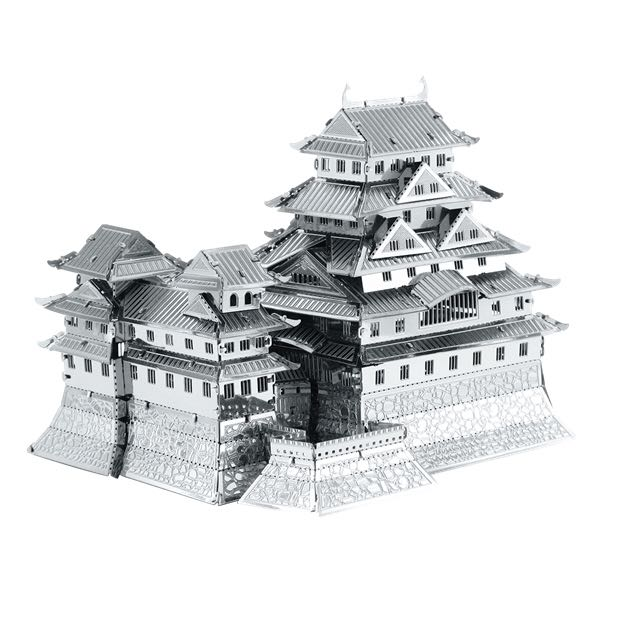 Himeji Castle Plane - Metal Earth front image (front cover)