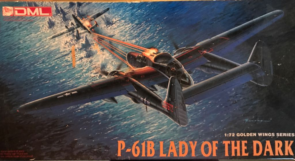 P-61B Plane - Northrop front image (front cover)