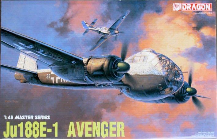 Ju 188 E-1 Avenger Plane - Junkers (WW2 Medium Bomber) front image (front cover)