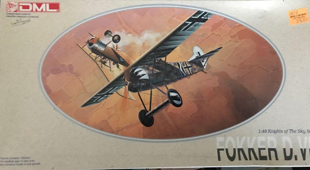 Fokker D.VIII Plane - Fokker front image (front cover)
