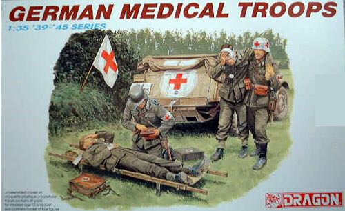 German Medical Troops Plane - Dragon front image (front cover)