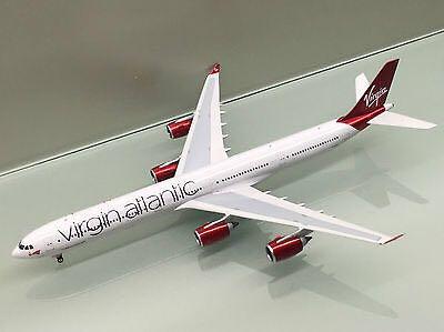 Phoenix, PH2VIR168, Virgin, Airbus A340-600, Reg. G-VEIL, 1:200 Plane - Airbus (Comercial) front image (front cover)