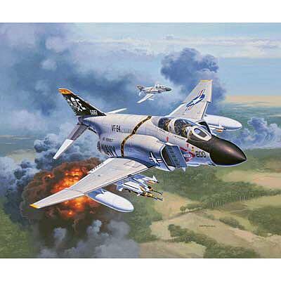 Revell Germany 1/72 F-4J Phantom US Navy 03941 4009803039411 Plane - McDonnell Douglas (Interceptor Fighter/Fighter-Bombet) front image (front cover)