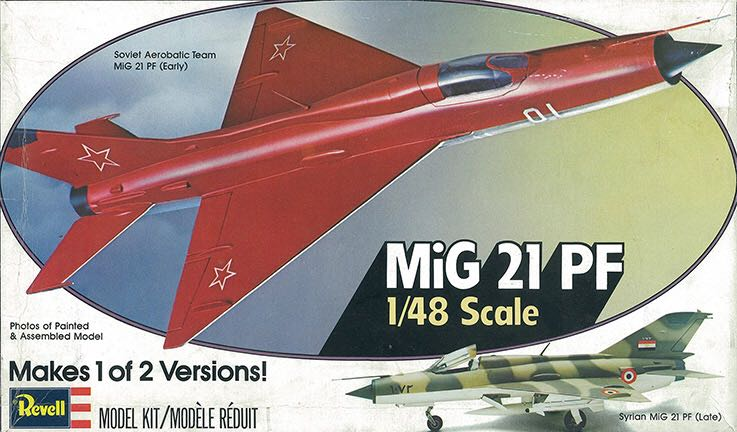 MiG-21PF Plane - Mikoyan-Gurevich (Supersonic Fighter & Interceptor) front image (front cover)