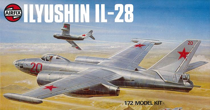 Il-28 Plane - Ilyushin (Medium Bomber) front image (front cover)