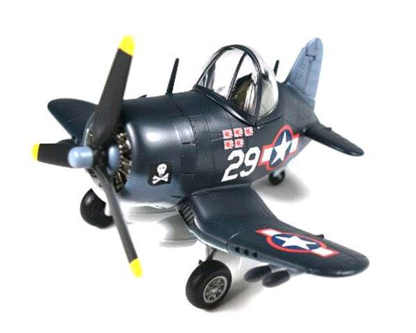 Tiger Cutie F-4U-1 Corsair Plane - Vought (Fighter) front image (front cover)
