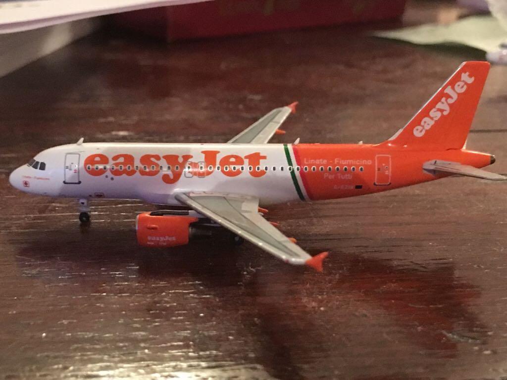 G-EZIB Plane - Airbus (A319) front image (front cover)