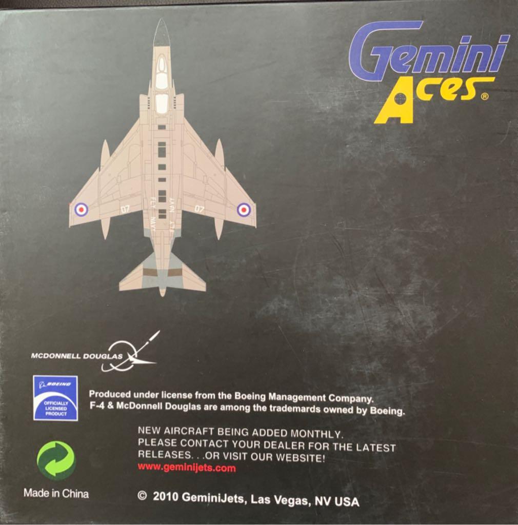 F-4K Phanthom Plane - MCDONNELL DOUGLAS back image (back cover, second image)