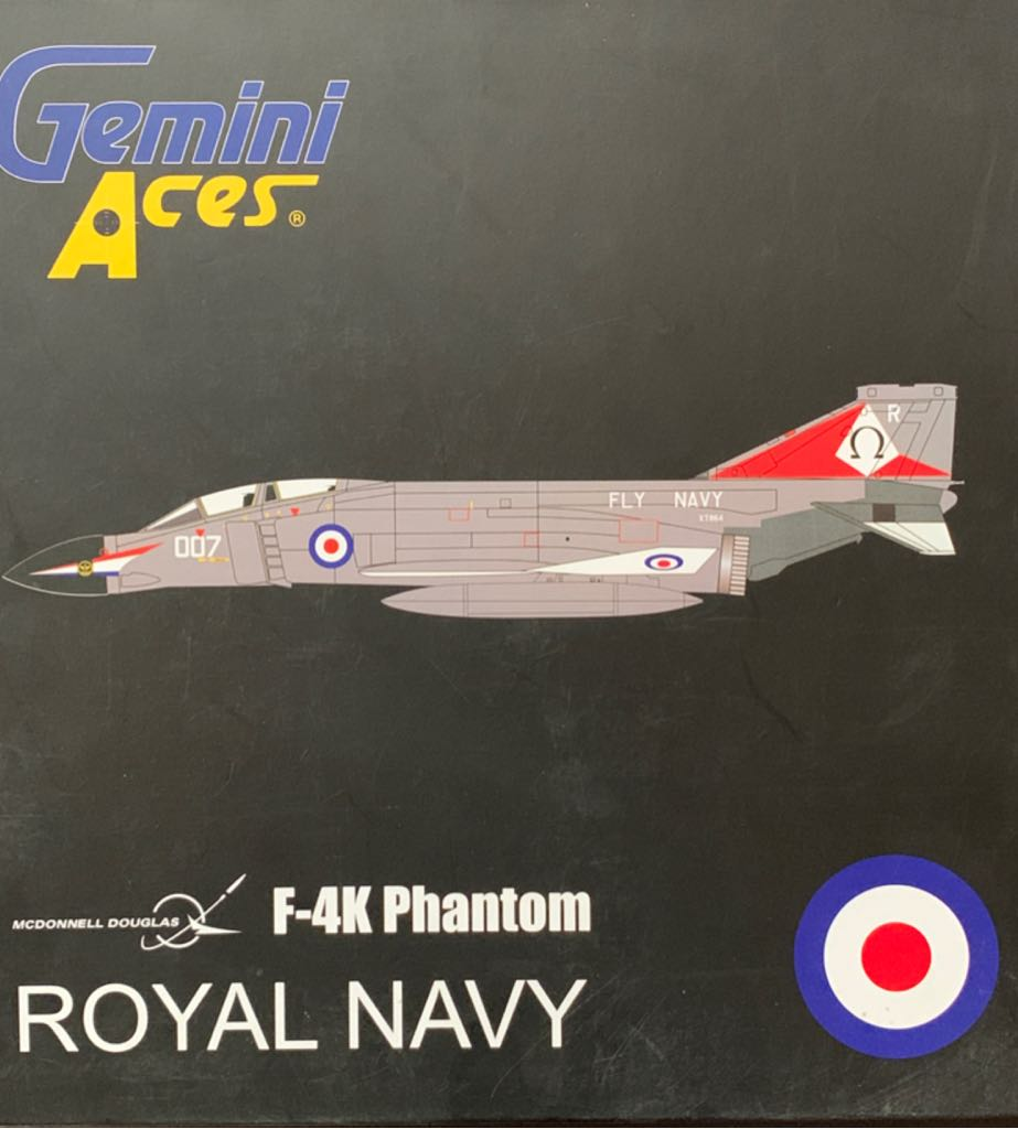 F-4K Phanthom Plane - MCDONNELL DOUGLAS front image (front cover)