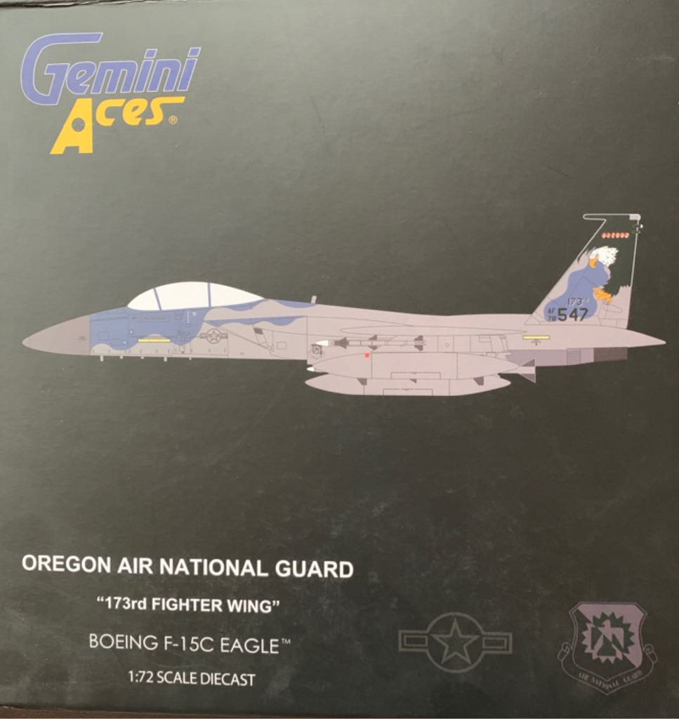 BOEING F-15C EAGLE Plane - BOEING front image (front cover)