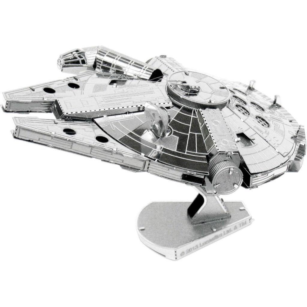 Millennium Falcon Plane - Metal Earth front image (front cover)