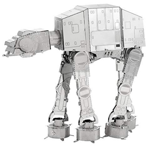 AT-AT Plane - Metal Earth front image (front cover)