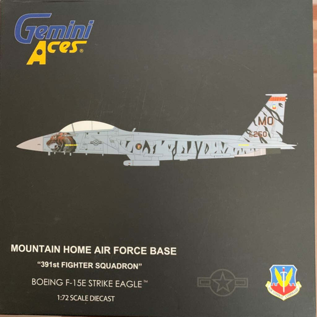 F-15E STRIKE EAGLE Plane - BOEING front image (front cover)