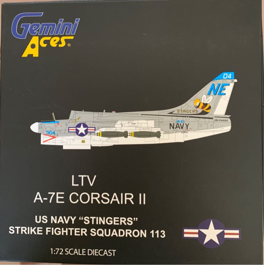 LTV A-7E CORSAIR II Plane - N/A front image (front cover)