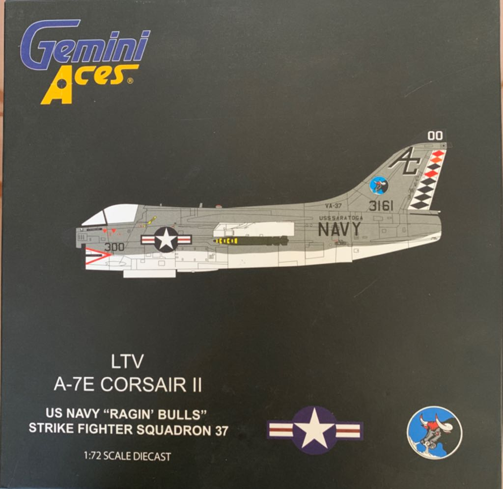 "LTV A-7E CORSAIR II ""RAGIN' BULLS"" Plane - N/A front image (front cover)"