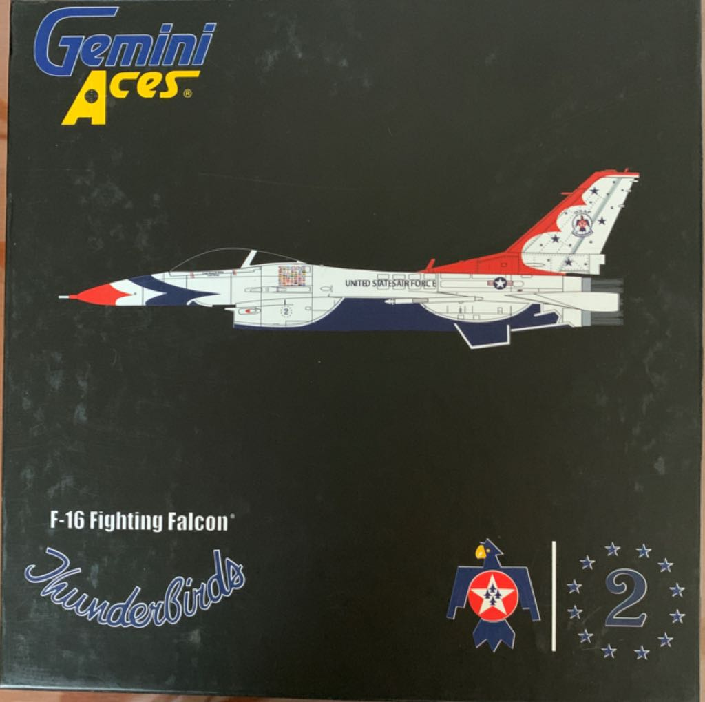 F-16 Fighting Falcon Thunderbirds Plane - LOCKHEED MARTIN front image (front cover)