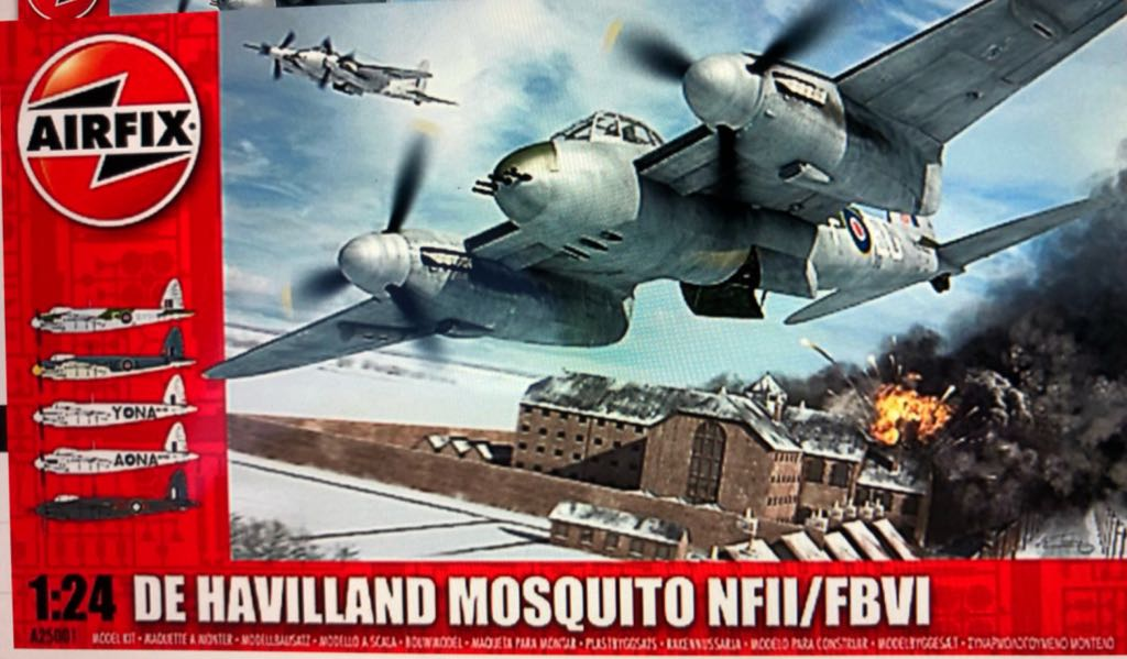 Mosquito NF11 / FBVI Plane - DeHaviland (Ww2 Fighter) front image (front cover)