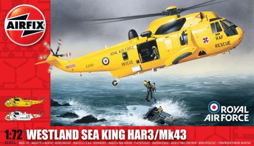 Sea King HAR3 Plane - WESTLAND (Military Helicopter) front image (front cover)