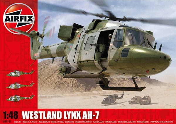 Lynx AH-7 Plane - WESTLAND (Military Helicopter) front image (front cover)