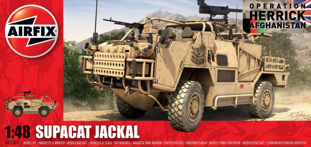 Jackal Plane - Supacat (Military Vehicle) front image (front cover)