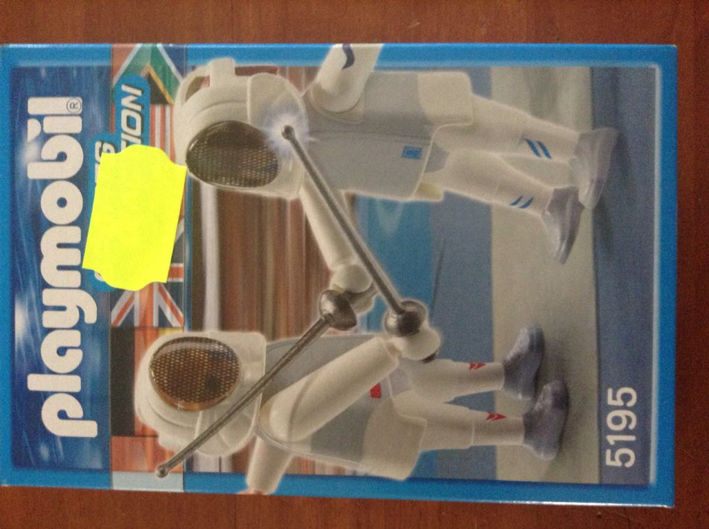 Schermers Playmobil - Sports & Action (5195) front image (front cover)