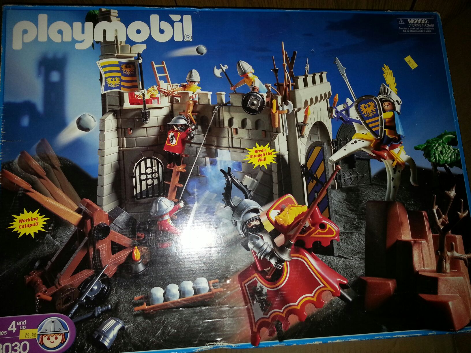 Knights 3030 Playmobil - Adventure (3030) front image (front cover)