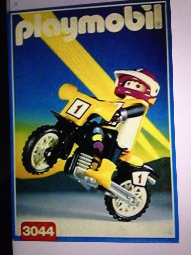 3044 Crossmotor Playmobil (3044) front image (front cover)