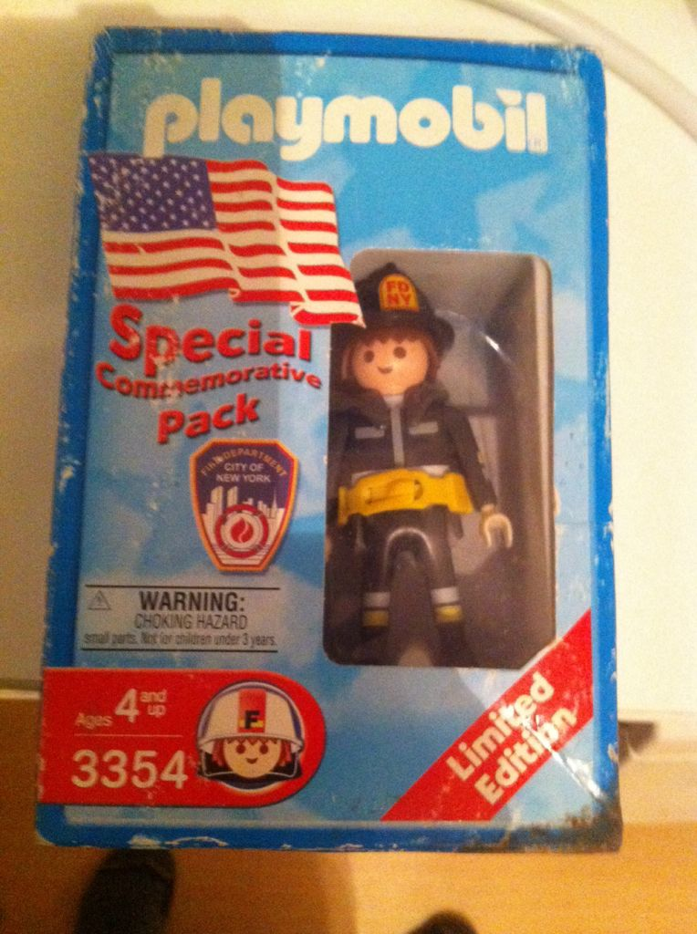 Brandweer Limited Edition Playmobil - Rescue (3354) front image (front cover)
