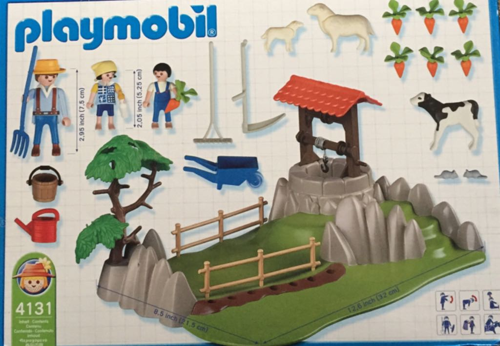 4131 Farm Super Set Playmobil - Country - Granja (4131) back image (back cover, second image)