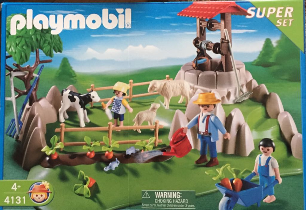4131 Farm Super Set Playmobil - Country - Granja (4131) front image (front cover)