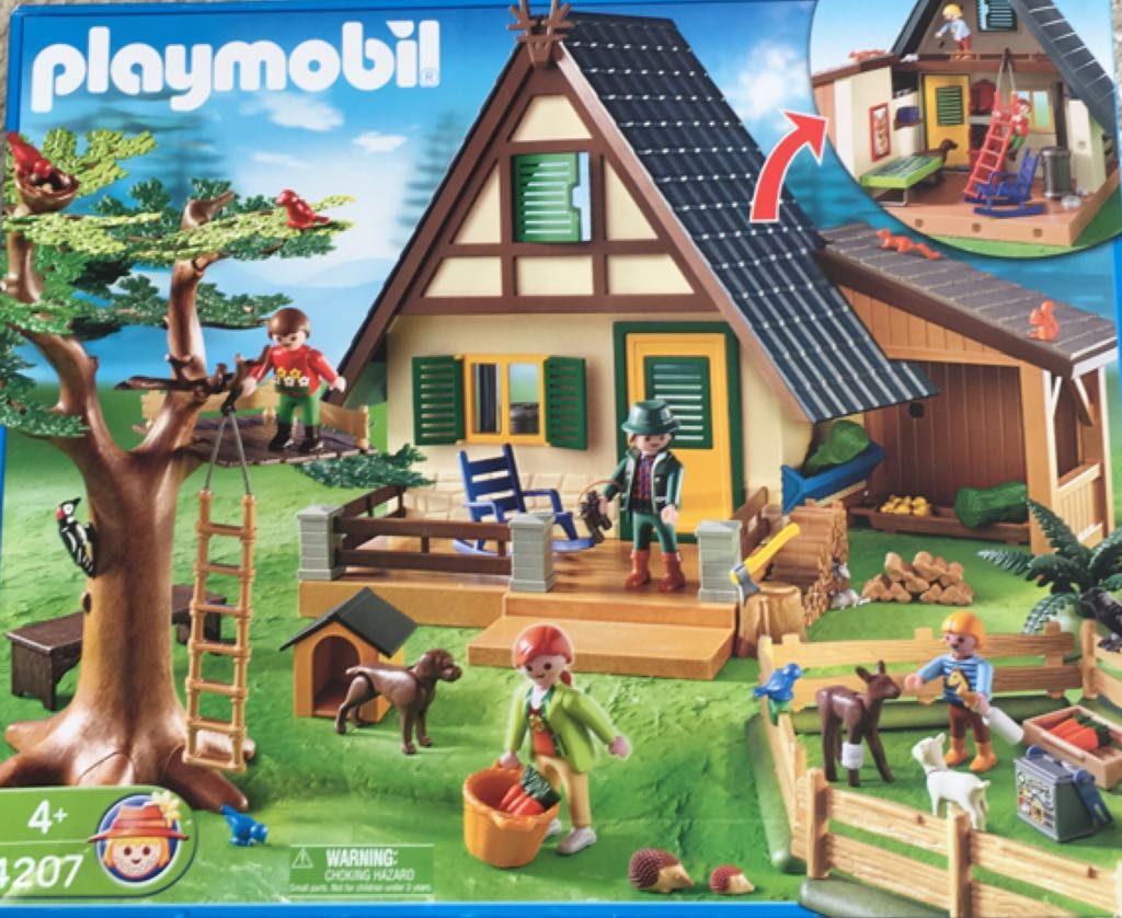 Casa Del Bosque Playmobil front image (front cover)