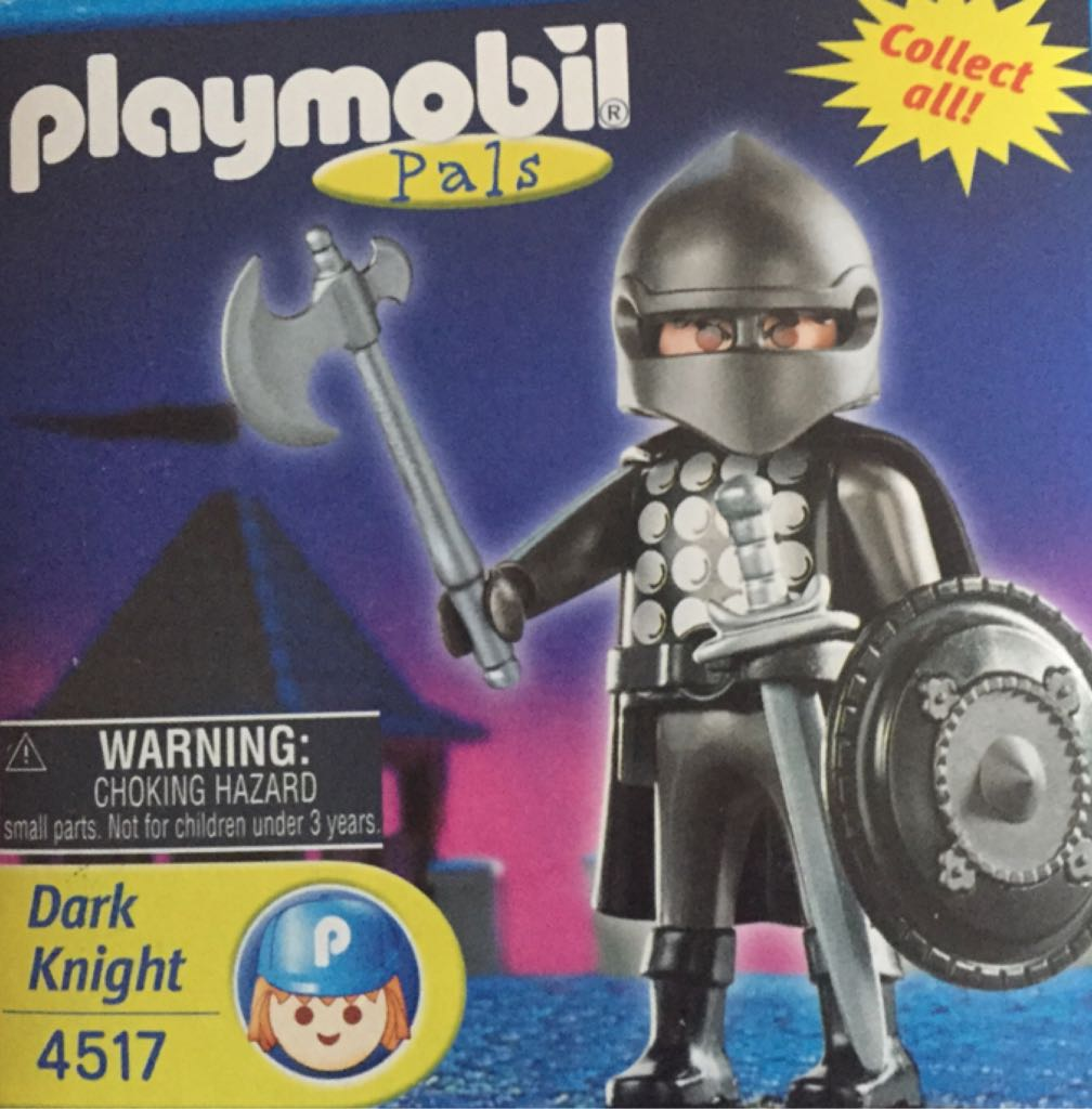 4517 Dark Knight Special Playmobil front image (front cover)