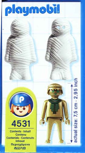 4531 Mummy Special Playmobil - Magic (4531) back image (back cover, second image)