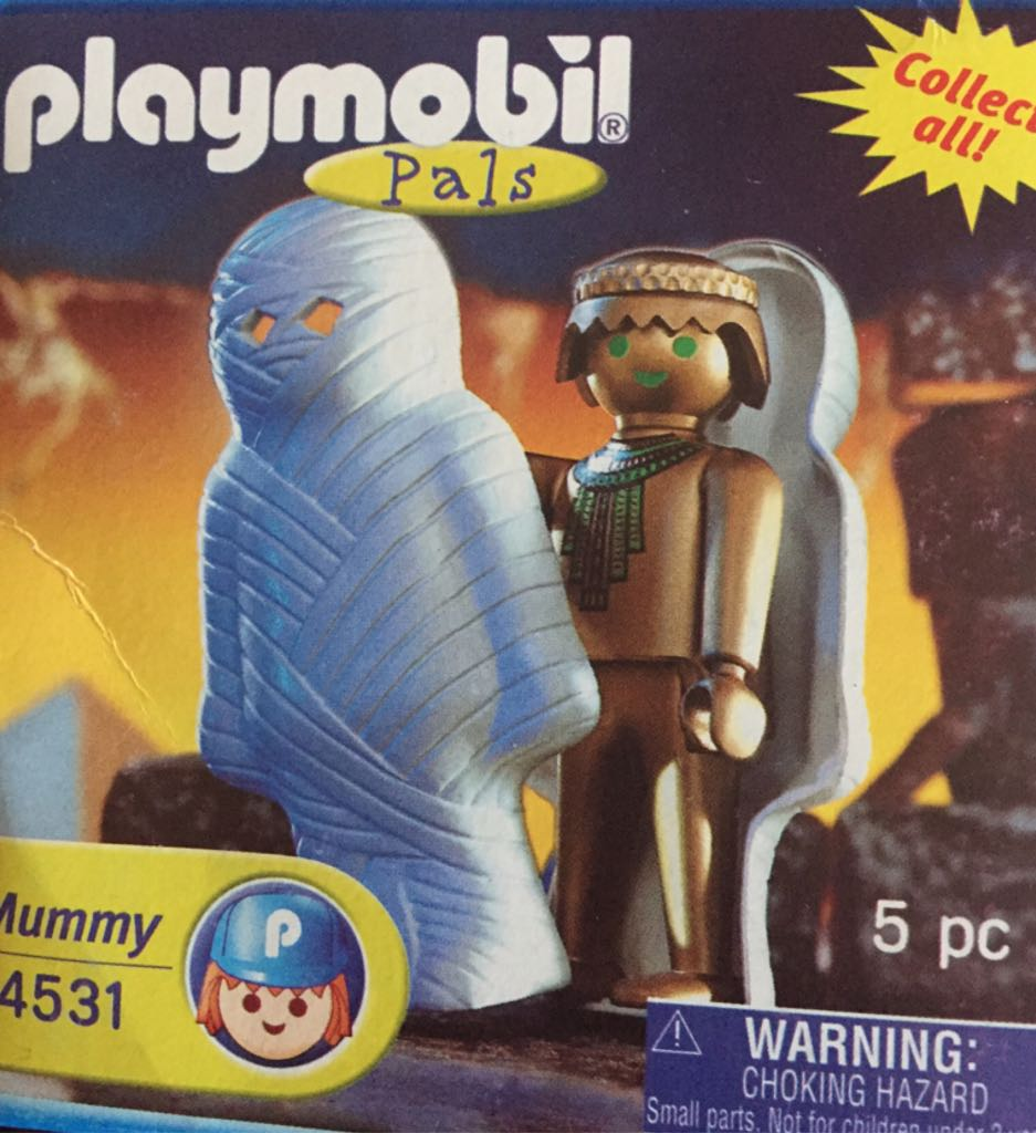4531 Mummy Special Playmobil - Magic (4531) front image (front cover)