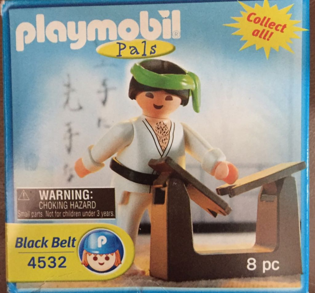 4532 Karate Special Pal Playmobil front image (front cover)