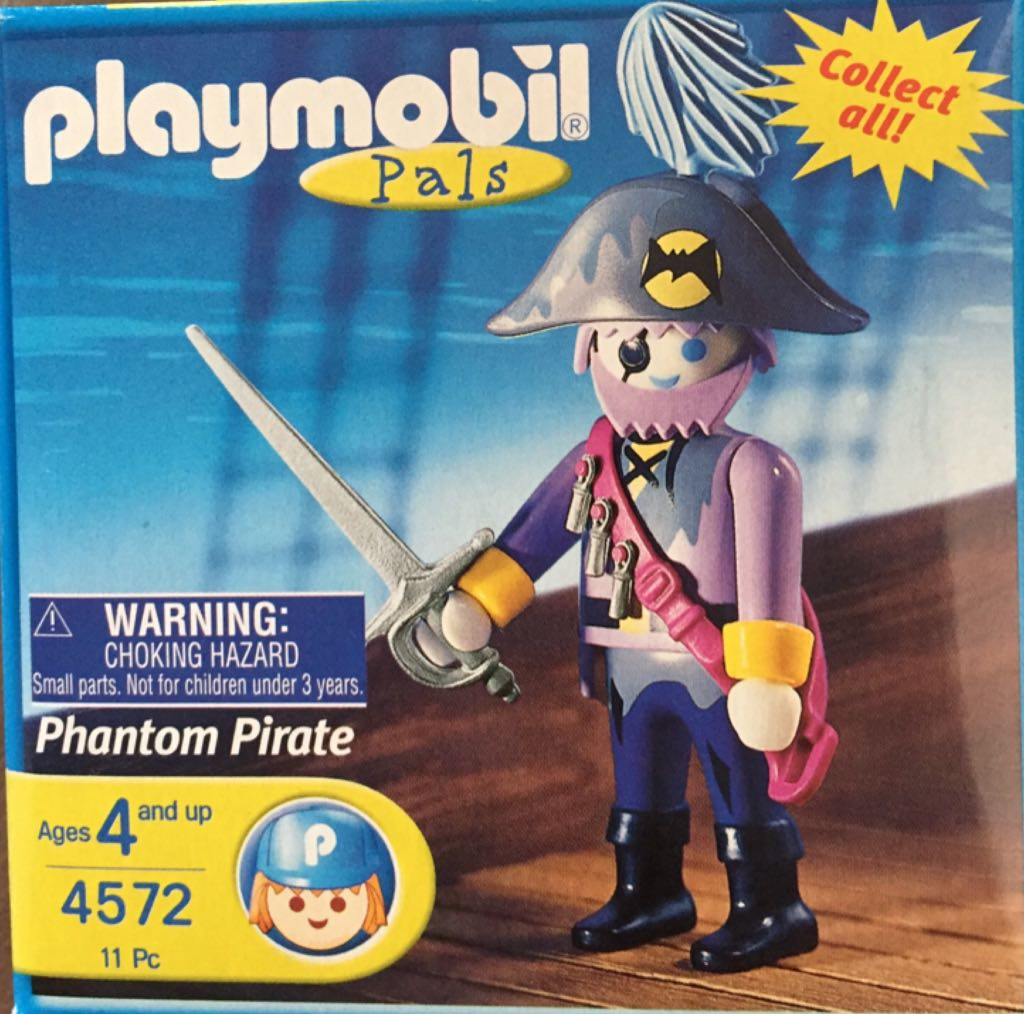 4572 Phantom Pirate Special Playmobil - Pirates (4572) front image (front cover)