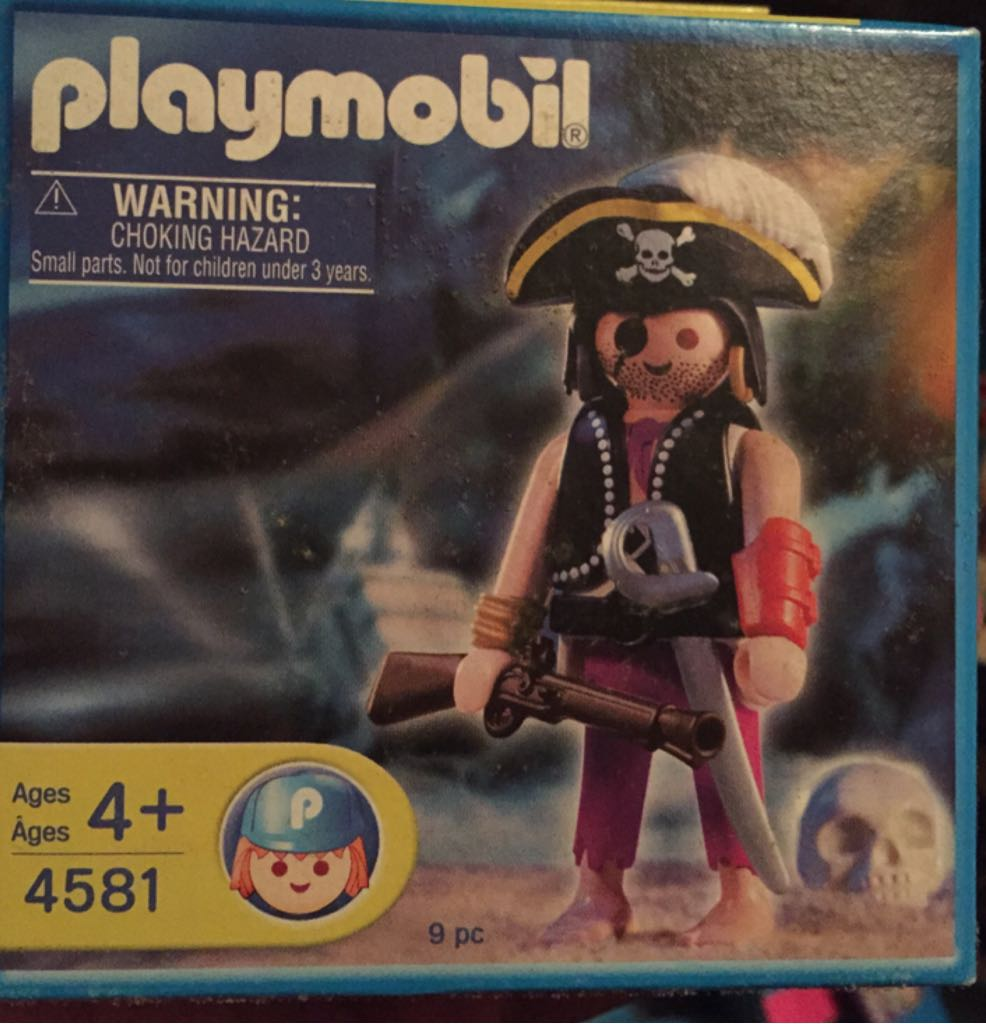 Pirate Playmobil (4581) front image (front cover)