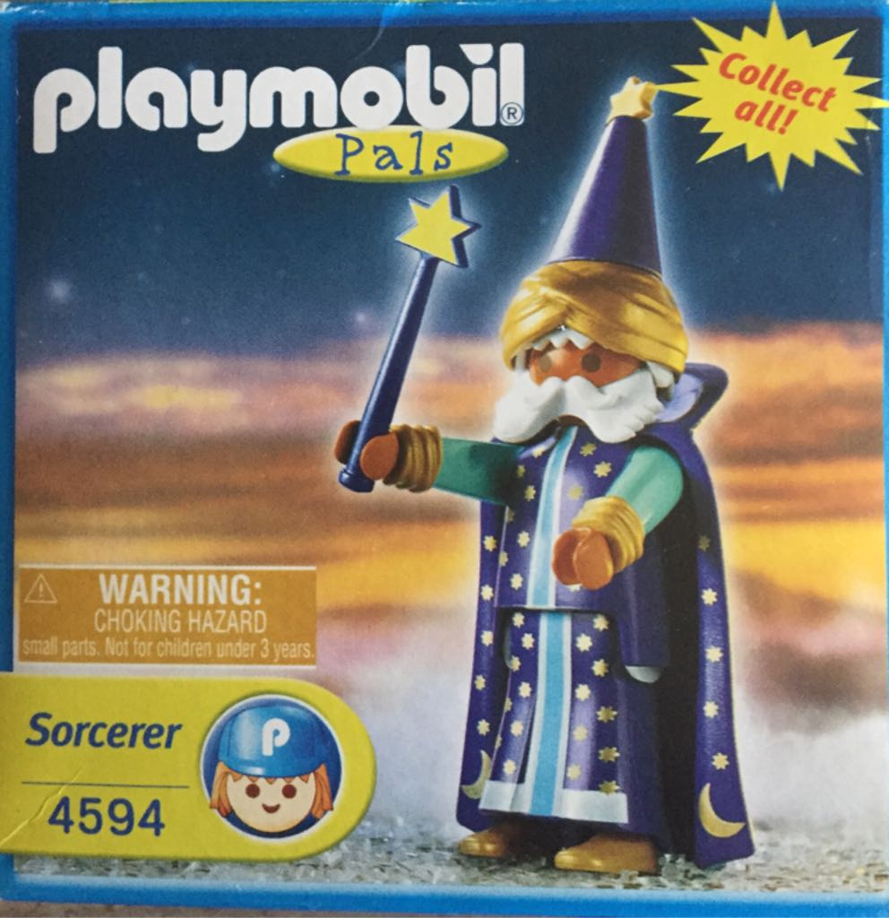 4591 Merlin Magic Special Playmobil front image (front cover)