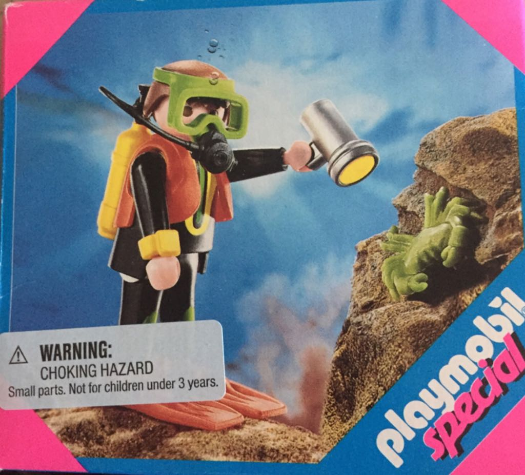 4596 Diver Special Playmobil - Special (4596) front image (front cover)