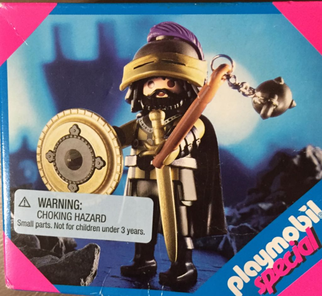 4602 Moorish Knight Special Playmobil front image (front cover)